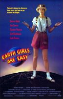 Earth Girls Are Easy Movie Poster (1989)