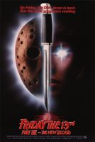 Friday the 13th Part VII: The New Blood Movie Poster (1988)