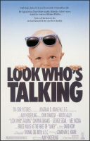 Look Who's Talking Movie Poster (1989)