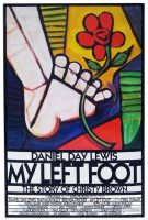 My Left Foot Movie Poster (1989)