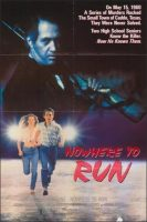 Nowhere to Run Movie Poster (1989)