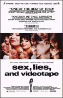 Sex, Lies, and Videotape Movie Poster (1989)