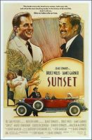 Sunset Movie Poster (1988)