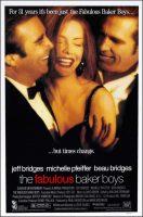 The Fabulous Baker Boys Movie Poster (1989)